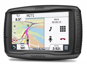 Garmin Zumo 590LM Motorcycle Satellite Navigation Unit
