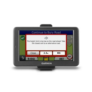 Garmin Dezi 560LMT Sat Nav Review for Truck, HGV and Lorry