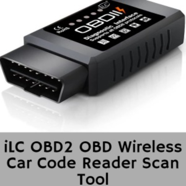 iLC OBD2 OBD Wireless Car Code Reader Scan Tool